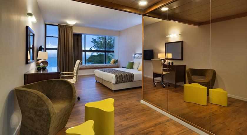 חדר זוגי מלון ביי וויו חיפה
