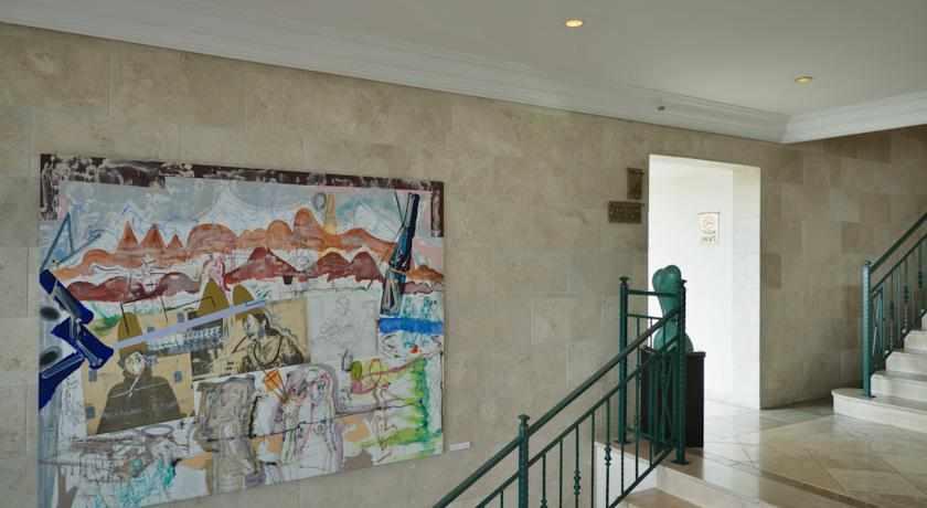 ציור קיר מלון יערות הכרמל