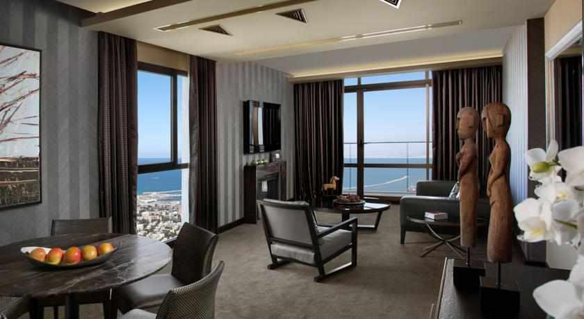 טרקלין לאנשי עסקים במלון דן כרמל חיפה