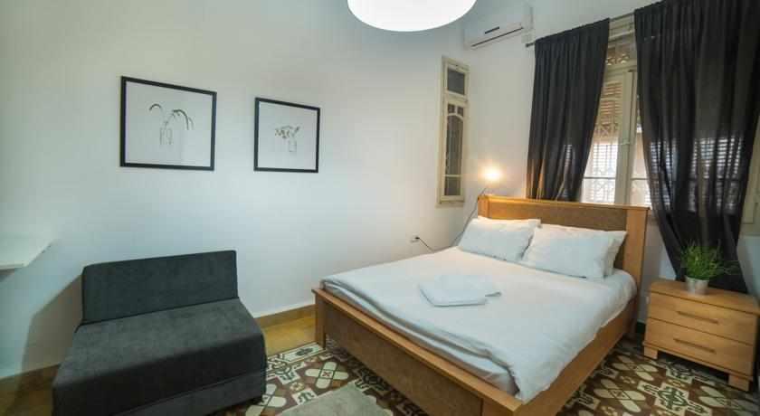 חדר זוגי מלון עדן חיפה