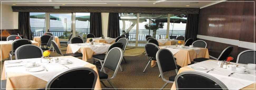 חדר אוכל מלון גני דן בחיפה