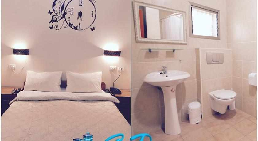 אמבטיה מלון סי פלאזה חיפה